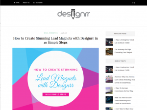 Designer Table Of Contents